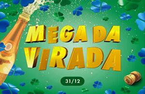 Mega da Virada logotipo