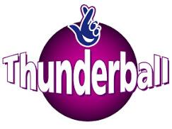 Old Thunderball lottery logo