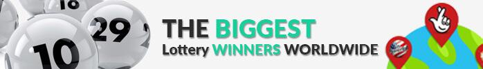 The biggest lottery jackpot winners worldwide