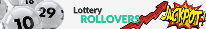 Lottery jackpot rollovers