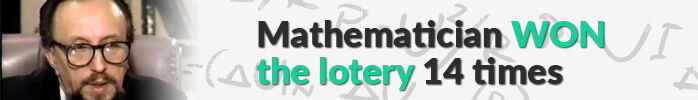 Mathematician won the lottery 14 times