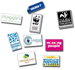 UK Postcode Lottery charities